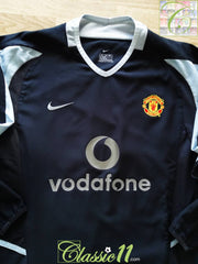 2002/03 Man Utd Goalkeeper Football Shirt. (B)