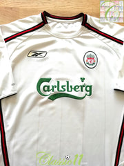 2003/04 Liverpool Away Football Shirt (L)