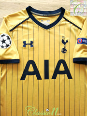 2016/17 Tottenham 3rd Champions League Football Shirt (S)