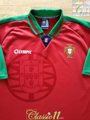 1996/97 Portugal Home Football Shirt (XL)