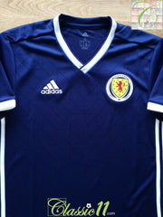 2018/19 Scotland Home Football Shirt (S)