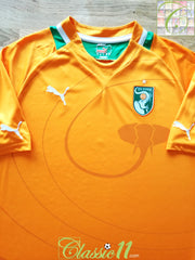 2012/13 Ivory Coast Home Football Shirt (XL)
