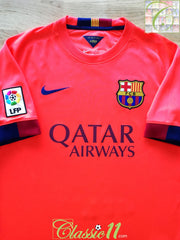 2014/15 Barcelona Away La Liga Football Shirt (XXL)