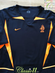 2002/03 Netherlands Away Football Shirt (XL)