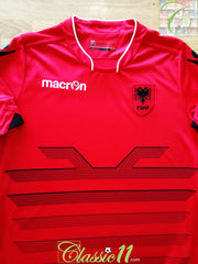 2016 Albania Home Football Shirt (S)