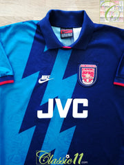 1995/96 Arsenal Away Football Shirt (S)
