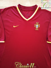 2000/01 Portugal Home Football Shirt (M)