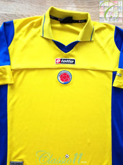 2003/04 Colombia Home Football Shirt (XXL)