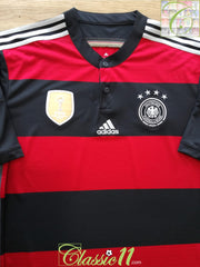 2014/15 Germany Away World Champions Football Shirt (XXL)