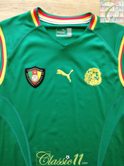 2002 Cameroon Home Football Vest Shirt (L)
