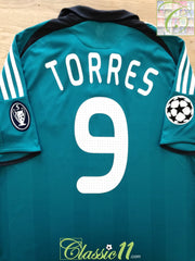 2008/09 Liverpool 3rd Champions League Football Shirt Torres #9 (L)