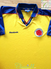 1998/99 Colombia Home Football Shirt (S)