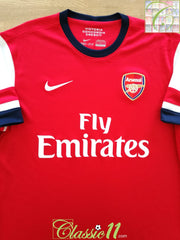 2012/13 Arsenal Home Football Shirt (S)