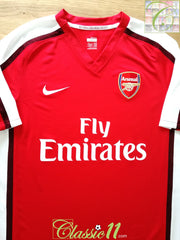 2008/09 Arsenal Home Football Shirt (XL)