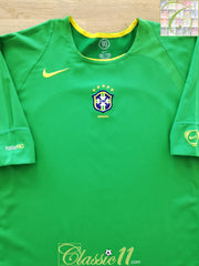 2004/05 Brazil Football Training Shirt (XL)