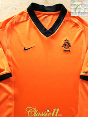 2000/01 Netherlands Home Football Shirt (S)