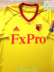 2017/18 Watford Home Football Shirt (L) *BNWT*