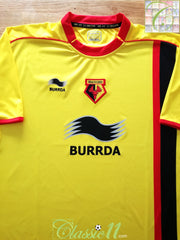 2010/11 Watford Home Football Shirt (XL) *BNWT*