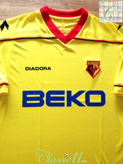 2008/09 Watford Home Football Shirt (XL) *BNWT*