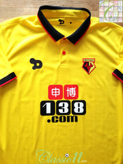 2016/17 Watford Home Football Shirt (L) *BNWT*