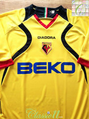 2007/08 Watford Home Football Shirt (XL) *BNWT*