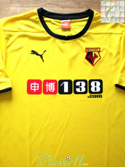 2014/15 Watford Home Football Shirt (XL) *BNWT*