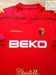 2008/09 Watford Away Football Shirt (XL) *BNWT*
