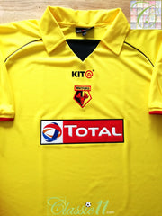 2003/04 Watford Home Football Shirt (XL)