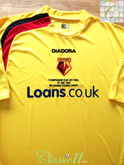 2006 Watford Home Play-Off Final Football Shirt (XL) *BNWT*