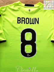 2015/16 Celtic 3rd SPFL Football Shirt Brown #8 (XL)