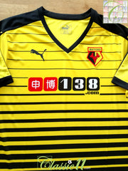 2015/16 Watford Home Football Shirt (XXL)
