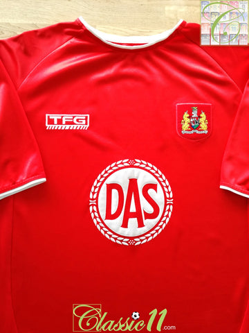2004/05 Bristol City Home Football Shirt (XXL)