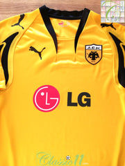 2007/08 AEK Athens Home Football Shirt (L)