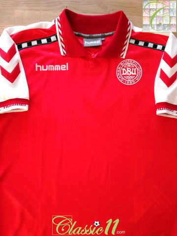 1996/97 Denmark Home Football Shirt (M)