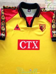 1998/99 Watford Home Football Shirt (XXL)