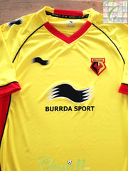 2011/12 Watford Home Football Shirt (XL) *BNWT*