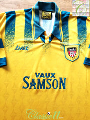 1995/96 Sunderland Away Football Shirt (XL)