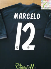 2018/19 Real Madrid Away Football Shirt Marcelo #12 (XL) *BNWT*