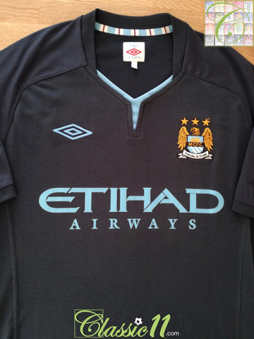 2010/11 Man City Away Football Shirt (L)