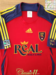 2006 Real Salt Lake Home MLS Football Shirt (L)
