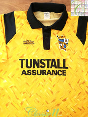 1992/93 Port Vale Away Football Shirt (M) (L)