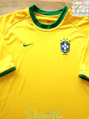 2000/01 Brazil Home Football Shirt (XL)