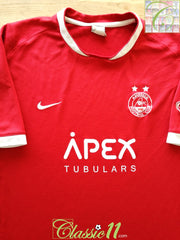 2007/08 Aberdeen Home Football Shirt (XXL)