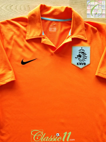 2006/07 Netherlands Home Football Shirt (L)