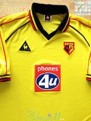 1999/00 Watford Home Football Shirt (XXL)