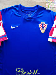 2010/11 Croatia Away Player Issue Football Shirt (L)