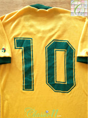 1982 Brazil Home Football Shirt (Zico) #10 (S)