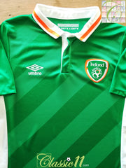 2016/17 Republic of Ireland Home Football Shirt. (W) (Size 16)