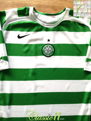 2005/06 Celtic Home Football Shirt (XL)