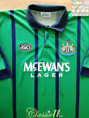 1994/95 Newcastle United Away Football Shirt (XXL)
